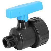 Vanne à boisseau PVC pression simple union à visser MF - Générique - Plusieurs modèles disponibles