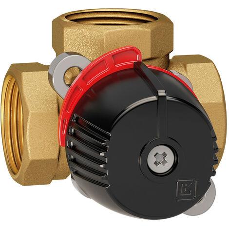 Vanne à secteur laiton Thermomix 3 voies 11/4 F - Thermador