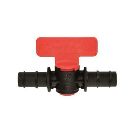 Vanne d'arret cannelée pour tuyau diamètre16mm