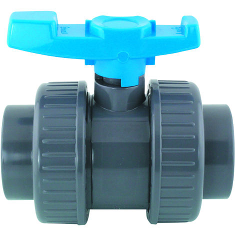 ø 50 mm Vanne PVC pour piscine - model 2018 avant 2020