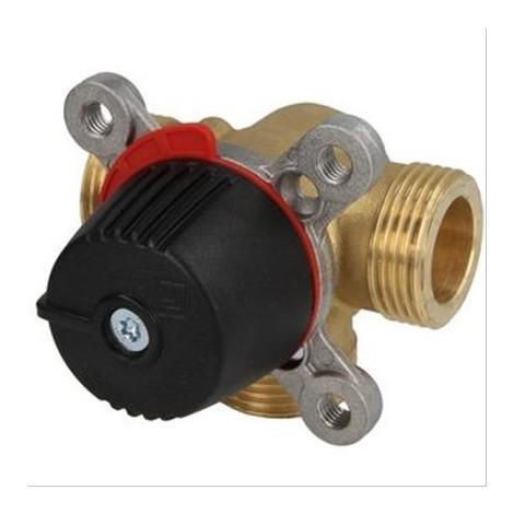 Vanne mélangeuse 3 voies Wipex à bague laiton Diam28mm - DN20mm - 4 Kvs