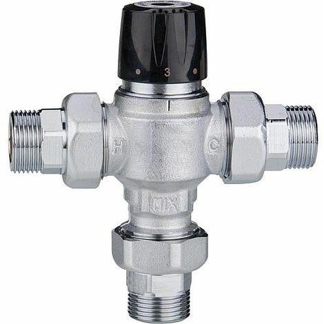 Vanne mélangeuse Easyflow Mix799 30-65°C, Kvs 1,5, DN15 (1/2``), mâle,rac.inclus