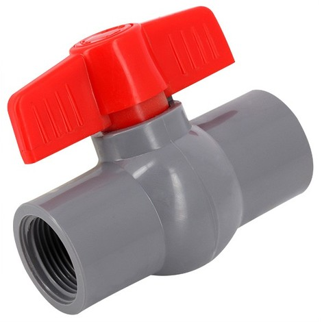 Vanne monobloc PVC pression à visser FF - Générique - Plusieurs modèles disponibles