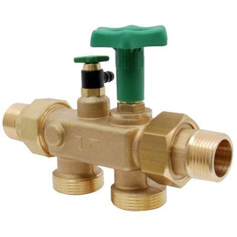 Vanne multi-BwT CB MULTIBLOCK X pour relier les adoucisseurs d'eau 12615AA