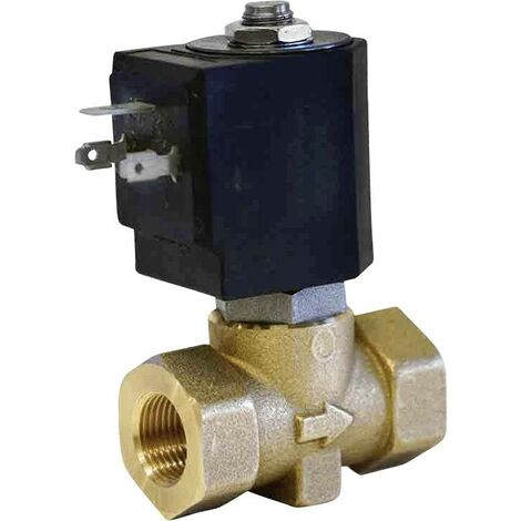 Vanne pneumatique à commande directe 2/2 voies M & M International D238DVL 24 V/DC G 3/8 1 pc(s) S69418