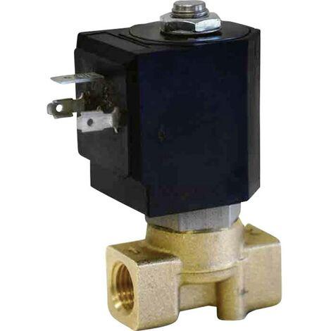 Vanne pneumatique à commande directe 2/2 voies M & M International D263DVH 24 V/DC G 1/4 1 pc(s)