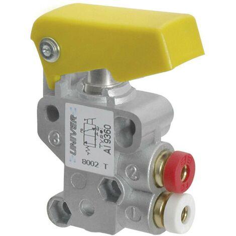 Vanne pneumatique à commande mécanique 3/2 voies Univer AI-9350M M5 1 pc(s)