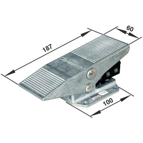 Vanne pneumatique à commande mécanique 5/2 voies Norgren X3048202 G 1/8 Matériau du boîtier aluminium 1 pc(s) S69129