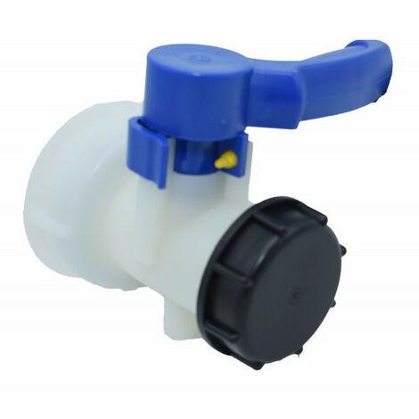 """Vanne pour cuve IBC 1000 litres 2"""" / 60 mm"""