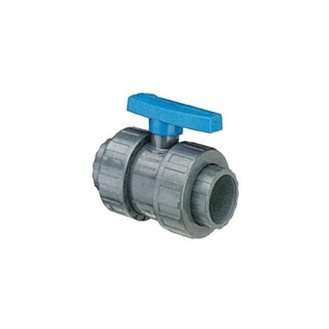 Vanne PVC pression diamètre 40 - 115040