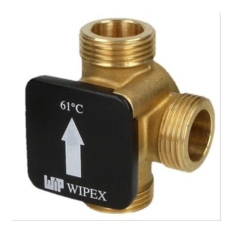 Vanne thermique de charge Diam25mm MM1'', 61°C