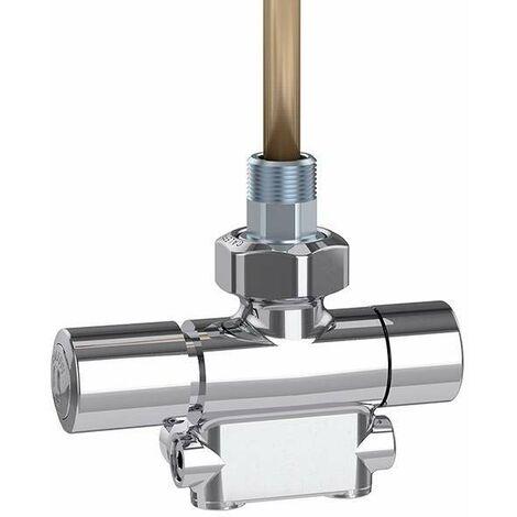 Vanne thermostatique chromé poli Caleffi 4005
