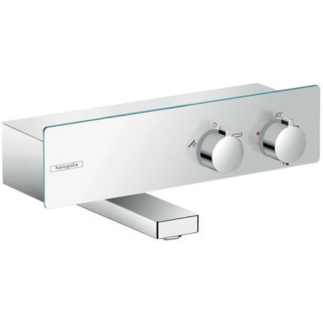 Hansgrohe ShowerTablet Thermostatic bath mixer 350 for exposed installation, Chrome (13107000)
