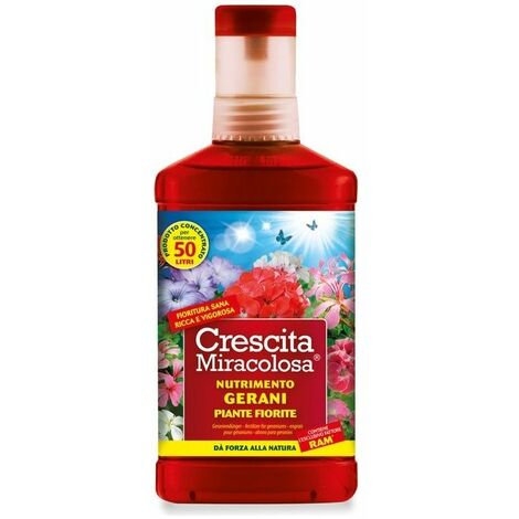 Vape Crescita Miracolosa Gerani Ml 375
