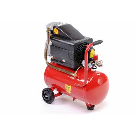 """main image of """"Varan Motors - 184005 Compresor de aire 24L 2CV 1.5KW, 130 litros por minuto - Rojo"""""""