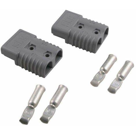 Varan Motors - 50Aqc Par de conectores rapidos max 600V 50Amp para cabrestante u otro