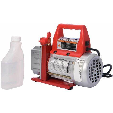 Varan Motors - 596-095 Pompe à dépression - Pompe à vide 230v 1/4cv 3cfm / 5Pa - Rouge