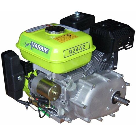 Varan Motors - 92442 6.5HP 4.8KW PETROL ENGINE WITH OILBATH CLUTCH + E-START REPLACE HONDA GX OR B&S