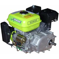 Varan Motors - 92442 6.5HP 4.8KW PETROL ENGINE WITH OILBATH CLUTCH + E-START REPLACE HONDA GX OR B&S