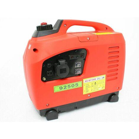 Varan Motors - 92505 GENERADOR COMPACTO DE GASOLINA PORTÁTIL 1000W 230V 1x 12VDC 4 TIEMPOS - Rojo