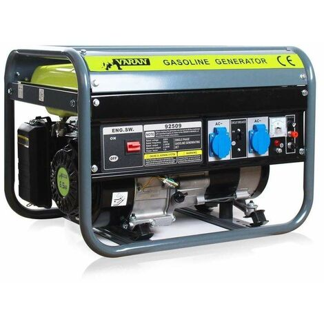 Varan Motors - 92509 Gasoline Generator Set 2200W 2 x 230V 1 x 12V electric generator