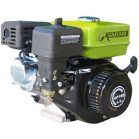 Varan Motors - 92580 6.5HP PETROL/GASOLINE ENGINE WITH 3/4'' KEYWAY SHAFT Q1 OUTPUT AND RECOIL START