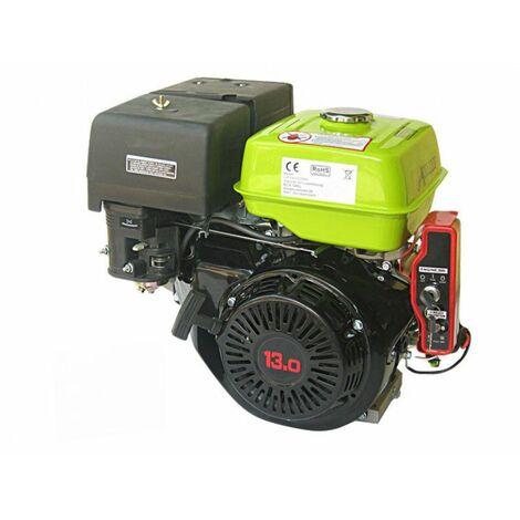 Varan Motors - 92582 Moteur essence 9,6kW 13 PS 389cc + Démarrage Electrique - Noir