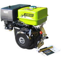 Varan Motors - 92583 13HP 389CC UP188 PETROL ENGINE KEYWAY SHAFT 1'' REPLACES HONDA GX or B&S GASOLINE