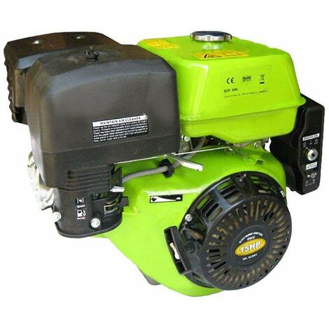 Varan Motors - 92584 15HP 420CC PETROL / GASOLINE ENGINE WITH ELECTRIC START AND 1'' / 25.4MM OUTPUT