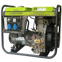 Varan Motors - 92601 Elektrischer Diesel Stromerzeuger 5.0kW, 2 x 230V, 1 x 12VDC