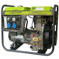 Varan Motors - 92601 HEAVY DUTY DIESEL GENERATOR 5000W 230V 12VDC GENERATOR 5,0kW PORTABLE