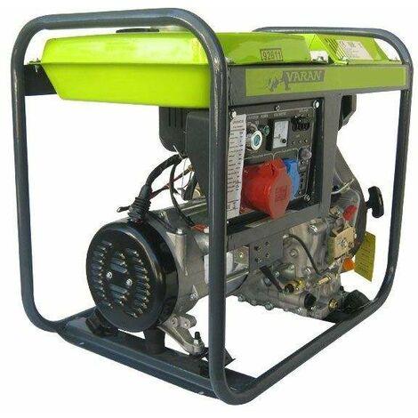 Varan Motors - 92611 Diesel Power Generator 5.0kVA, 1 x 400V, 1 x 230V, 1 x 12VDC