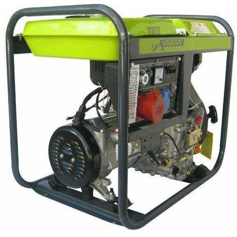 """main image of """"Varan Motors - 92611 Generador eléctrico diésel 5.0kVA, 1 x 400V, 1 x 230V, 1 x 12VDC - Gris"""""""