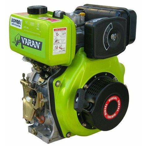 Varan Motors - 92680-1 Diesel engine 4.92kW 6.7HP 305cc, right exit with key F2 19mm