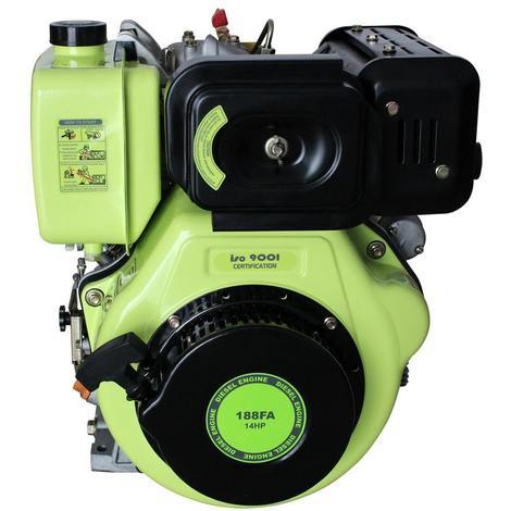 Varan Motors - 92682 14HP 456CC DIESEL ENGINE WITH ELECTRIC START AND 1'' / 25.4MM OUTPUT