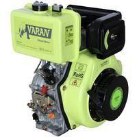 Varan Motors - 92684 Engine Diesel 14HP 456cc + Electric Start, Conical outlet FG3