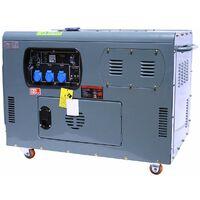 Varan Motors - 92692 Silent Diesel Generator 12kW 230V + 12V