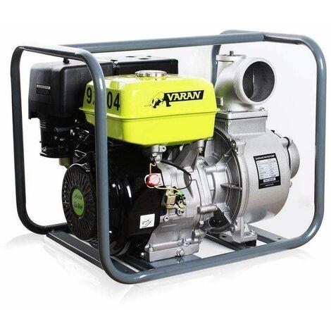 Varan Motors - 92704 Pompe à eau thermique Motopompe essence 4'' 90m³/h 13CV