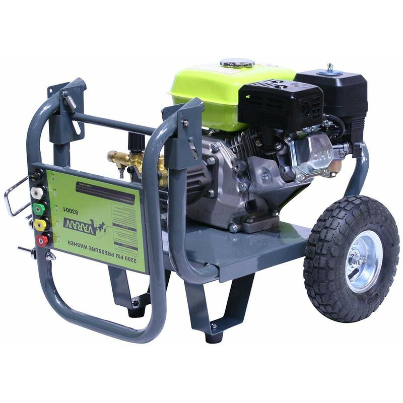 Varan Motors - 93001 High Pressure Washer Gasoline 6 5HP 163CC 2700PSI  170BAR