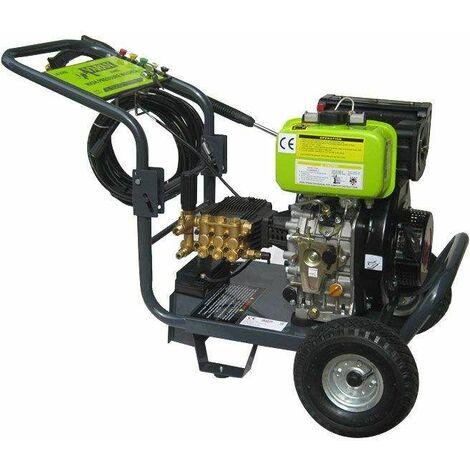 Varan Motors - 93002 Hidrolimpiadora Alta presión diésel 3000PSI 205BAR + Arranque Eléctrico - Gris