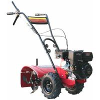 Varan Motors - 93020 Gasoline Petrol Tiller 6.5HP Working width 50CM with all terrain wheels