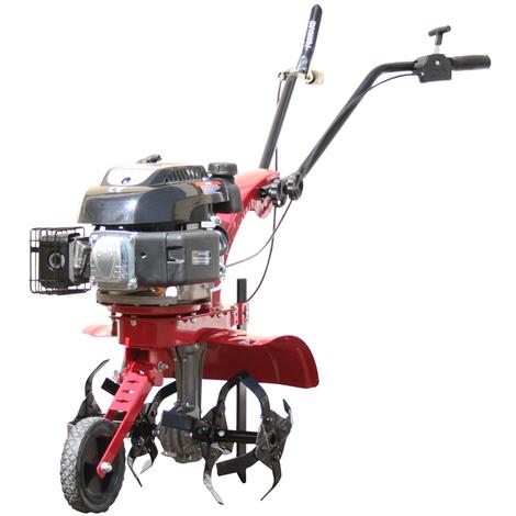 Varan Motors - 93021 Motoculteur Thermique Moteur 140cc 4.5CV Largeur de travail 40CM avec roue de guide