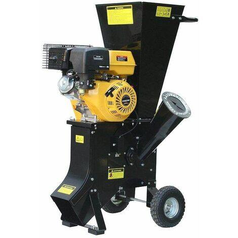Varan Motors - 93022 Triturador térmico de vegetales , 420CC 13CV, máx. 85mm - Negro