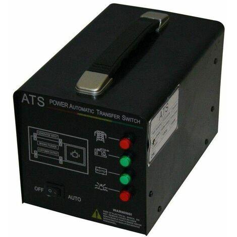 Varan Motors - ATS-230V Sistema de transferencia automático de la alimentación eléctrica ATS 230V 5KW máx - Negro