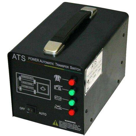 Varan Motors - ATS-400V Sistema de transferencia automático de la alimentación eléctrica ATS 400V 5KW máx - Negro