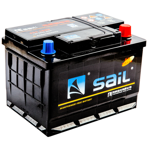 Varan Motors - BAT-SAIL-55519mf Electric accumulator battery 12V 55Ah, Sail 555 19MF