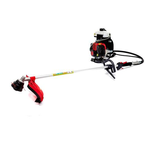 Varan Motors - bc415d-2017 PETROL BRUSH CUTTER / TRIMMER BACKPACK 43CC 2HP WITH BLADE AND WIRE CUT SET PROVIDED!