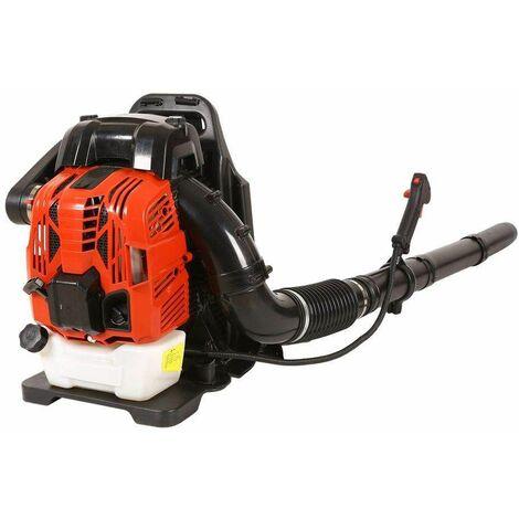 Varan Motors - BL766 Soplador térmico de mochila con motor de 4 tiempos 76cc 2.2kW, soplador trasero de gasolina