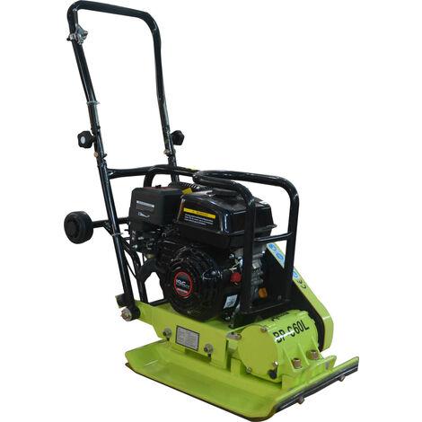 Varan Motors - BP-C60L Gasoline Vibration Plate, Compactor 65KG with motor Loncin 6.5HP