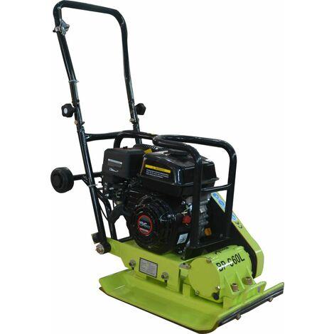 Varan Motors - BP-C60L Placa vibrante, pisón, compactadora térmica 65KG con motor Loncin 6.5CV